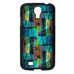 Abstract Square Wall Samsung Galaxy S4 I9500/ I9505 Case (black) by Costasonlineshop