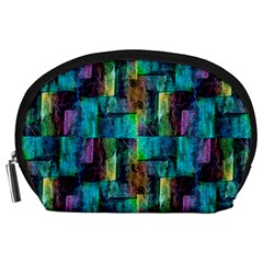 Abstract Square Wall Accessory Pouches (large)  by Costasonlineshop