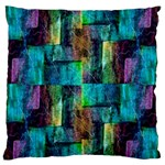 Abstract Square Wall Standard Flano Cushion Cases (Two Sides)  Back