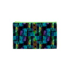 Abstract Square Wall Cosmetic Bag (xs) by Costasonlineshop