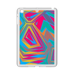 Distorted Shapes			apple Ipad Mini 2 Case (white) by LalyLauraFLM