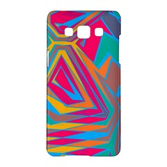 Distorted Shapes			samsung Galaxy A5 Hardshell Case by LalyLauraFLM
