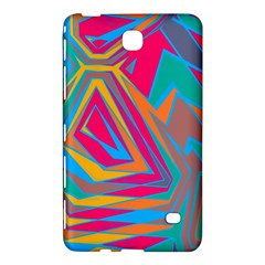 Distorted Shapes			samsung Galaxy Tab 4 (8 ) Hardshell Case by LalyLauraFLM