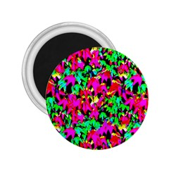 Colorful Leaves 2 25  Magnets by Costasonlineshop