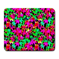 Colorful Leaves Large Mousepads by Costasonlineshop