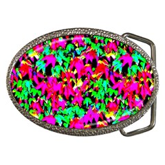 Colorful Leaves Belt Buckles by Costasonlineshop