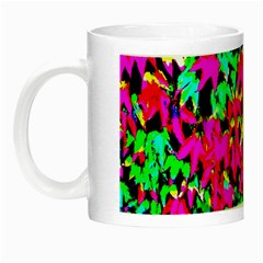 Colorful Leaves Night Luminous Mugs by Costasonlineshop