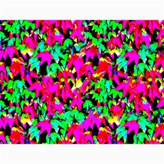 Colorful Leaves Canvas 12  X 16   by Costasonlineshop