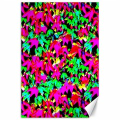 Colorful Leaves Canvas 24  X 36  by Costasonlineshop