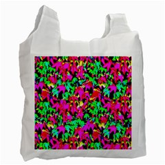 Colorful Leaves Recycle Bag (one Side) by Costasonlineshop