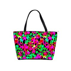 Colorful Leaves Shoulder Handbags by Costasonlineshop