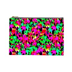 Colorful Leaves Cosmetic Bag (large)  by Costasonlineshop