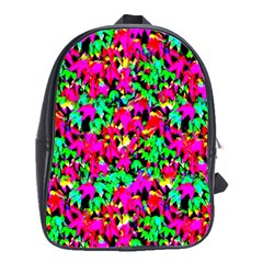 Colorful Leaves School Bags(large)  by Costasonlineshop
