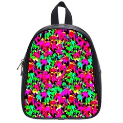 Colorful Leaves School Bags (small)  by Costasonlineshop