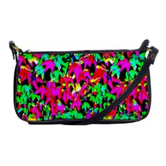 Colorful Leaves Shoulder Clutch Bags by Costasonlineshop