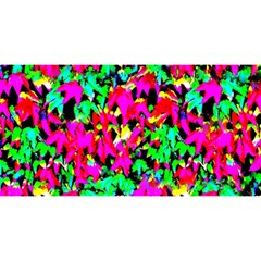 Colorful Leaves You Are Invited 3d Greeting Card (8x4)  by Costasonlineshop
