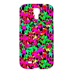 Colorful Leaves Samsung Galaxy S4 I9500/i9505 Hardshell Case by Costasonlineshop