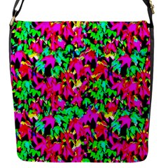 Colorful Leaves Flap Messenger Bag (s) by Costasonlineshop