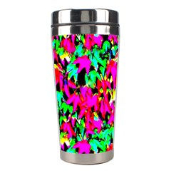 Colorful Leaves Stainless Steel Travel Tumblers by Costasonlineshop