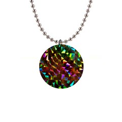 Cool Glitter Pattern Button Necklaces by Costasonlineshop