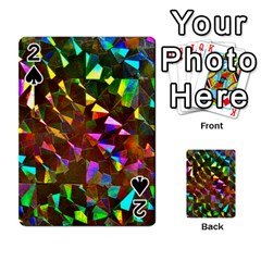 Cool Glitter Pattern Playing Cards 54 Designs  by Costasonlineshop