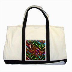 Cool Glitter Pattern Two Tone Tote Bag  by Costasonlineshop