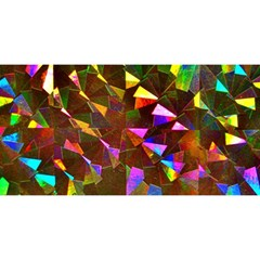 Cool Glitter Pattern You Are Invited 3d Greeting Card (8x4)  by Costasonlineshop