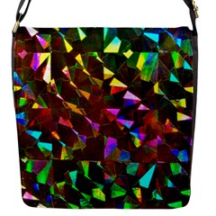 Cool Glitter Pattern Flap Messenger Bag (s) by Costasonlineshop