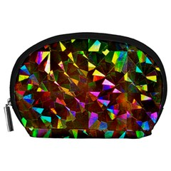 Cool Glitter Pattern Accessory Pouches (large)  by Costasonlineshop