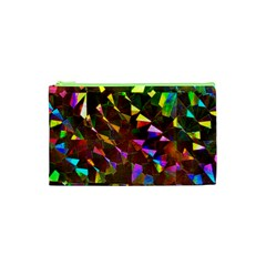 Cool Glitter Pattern Cosmetic Bag (xs) by Costasonlineshop