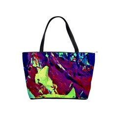 Abstract Painting Blue,yellow,red,green Shoulder Handbags by Costasonlineshop