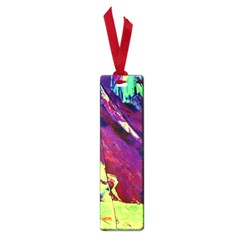 Abstract Painting Blue,yellow,red,green Small Book Marks by Costasonlineshop