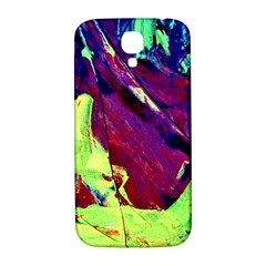 Abstract Painting Blue,yellow,red,green Samsung Galaxy S4 I9500/i9505  Hardshell Back Case