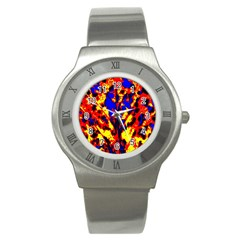 Fire Tree Pop Art Stainless Steel Watches by Costasonlineshop