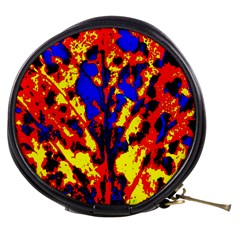 Fire Tree Pop Art Mini Makeup Bags by Costasonlineshop