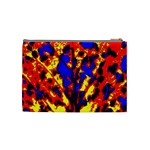 Fire Tree Pop Art Cosmetic Bag (Medium)  Back