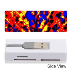 Fire Tree Pop Art Memory Card Reader (stick)  by Costasonlineshop