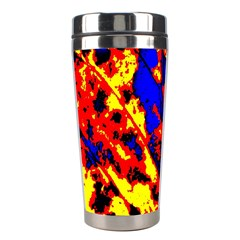 Fire Tree Pop Art Stainless Steel Travel Tumblers by Costasonlineshop