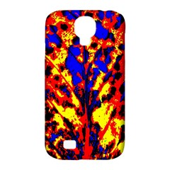 Fire Tree Pop Art Samsung Galaxy S4 Classic Hardshell Case (pc+silicone) by Costasonlineshop