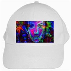 Night Dancer White Cap by icarusismartdesigns