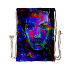 Night Dancer Drawstring Bag (small) by icarusismartdesigns
