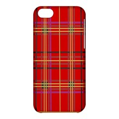 Plaid Apple Iphone 5c Hardshell Case by JDDesigns