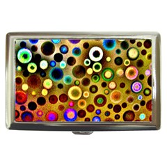 Colourful Circles Pattern Cigarette Money Cases by Costasonlineshop