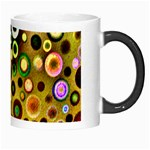 Colourful Circles Pattern Morph Mugs Right