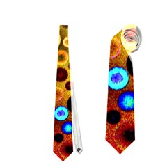 Colourful Circles Pattern Neckties (two Side)  by Costasonlineshop