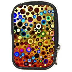 Colourful Circles Pattern Compact Camera Cases by Costasonlineshop