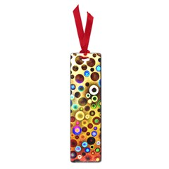 Colourful Circles Pattern Small Book Marks by Costasonlineshop