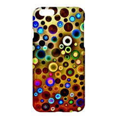 Colourful Circles Pattern Apple Iphone 6 Plus/6s Plus Hardshell Case by Costasonlineshop