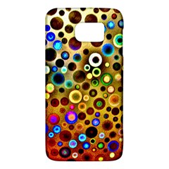 Colourful Circles Pattern Galaxy S6 by Costasonlineshop