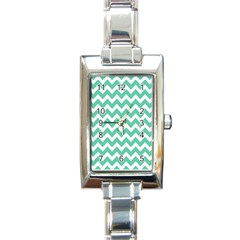 Chevron Pattern Gifts Rectangle Italian Charm Watches